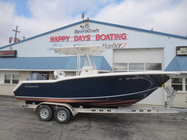 Used Tidewater 230 CC230 CC Center Console Fishing Boat For Sale