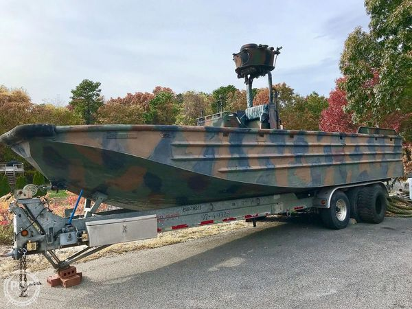 Used United States Marine Special Operations Craft Riverine Crew Boat For Sale