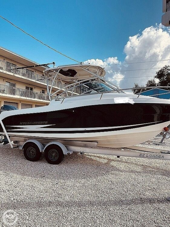 Used Hydra-Sports 2200VX Express Walkaround Fishing Boat For Sale