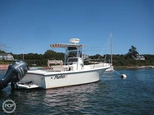 Used Parker Marine 2300 Center Console Fishing Boat For Sale