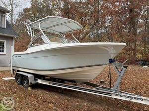 Used Cobia 220 DC Bowrider Boat For Sale
