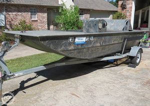 Used Leblanc Boat Works 16 Custom Duck hunter Duck Fishing Boat For Sale