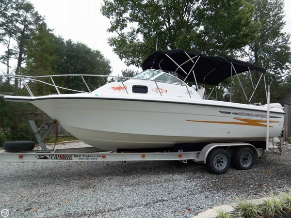 Used Hydra-Sports 230 Seahorse WA Walkaround Fishing Boat For Sale