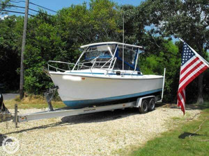 Used Shamrock 260 Walkaround Fishing Boat For Sale