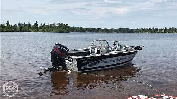Used Mirrocraft F1863 Agressor X Aluminum Fishing Boat For Sale