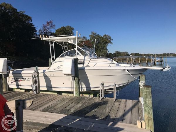 Used Sportcraft 241 Walkaround Fishing Boat For Sale