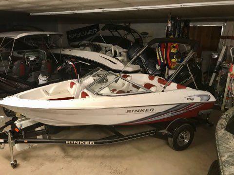 New Rinker 17QX OB / Outboard Model Bowrider Boat For Sale