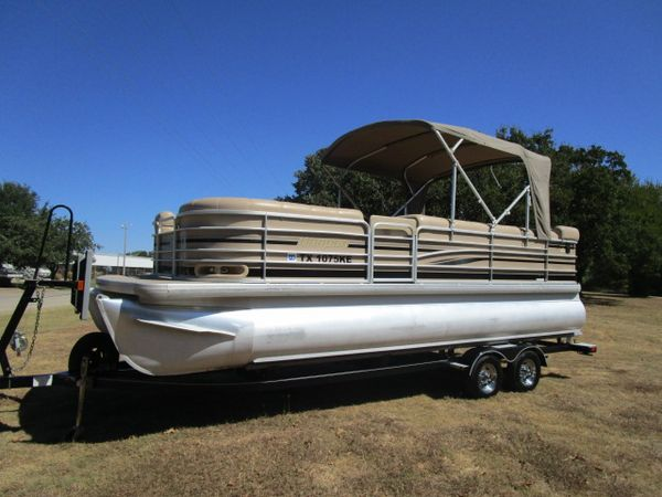 Used Sanpan 2200LE2200LE Pontoon Boat For Sale