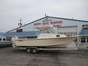 Used Parker 2510 Walkaround2510 Walkaround Saltwater Fishing Boat For Sale