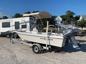 Used Sailfish 174 CC174 CC Saltwater Fishing Boat For Sale