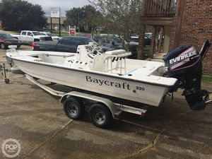 Used Starkey's Fiberglass Products Baycraft 230 Bay Boat For Sale