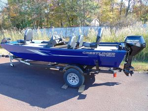 New Crestliner 1700 Storm1700 Storm Aluminum Fishing Boat For Sale