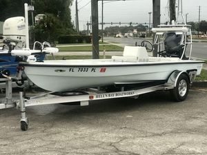 Used Hell's Bay ProfessionalProfessional Flats Fishing Boat For Sale