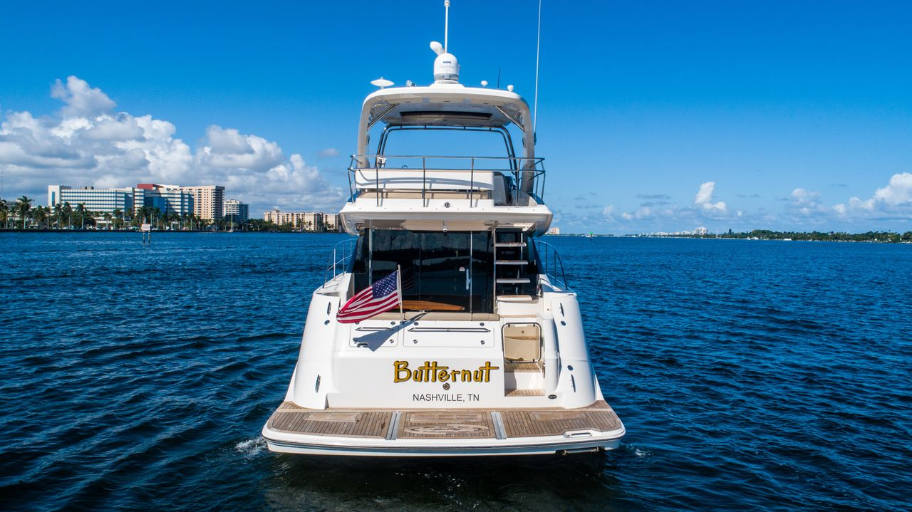 2016 Used Sea Ray Motor Yacht For Sale 799 000 West