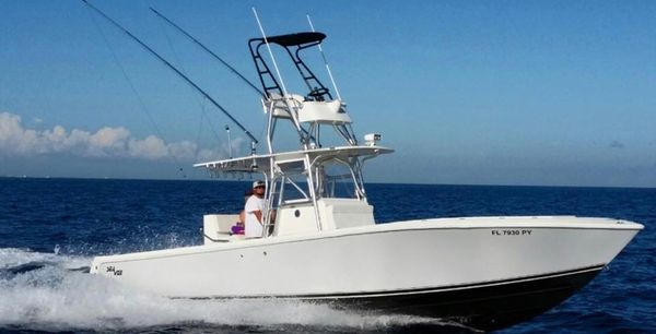 Used Seavee Inboard Center Console Sports Fishing Boat For Sale