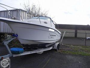 Used Seaswirl 2101 Walkaround Fishing Boat For Sale