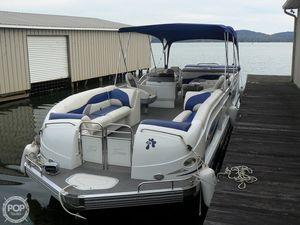 Used Jc 306 Tritoon O/B Pontoon Boat For Sale