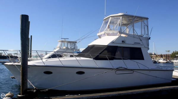 Used President 37 SF Sports Fishing Boat For Sale