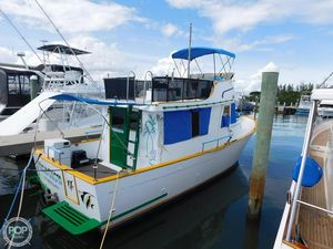 Used Chb Marine Trader Trawler Boat For Sale
