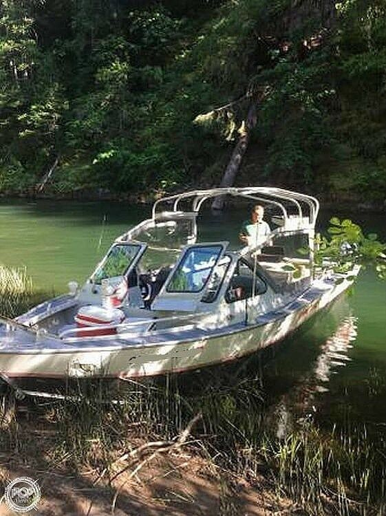 Used Jetcraft 21 Aluminum Fishing Boat For Sale