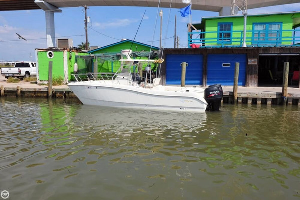 Used World Cat 246 Sport Fish Power Catamaran Boat For Sale