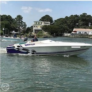 Used Hustler 266 Classic High Performance Boat For Sale