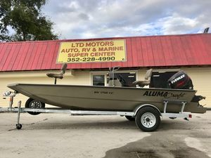 New Alumacraft MV1756 AW CCMV1756 AW CC Center Console Fishing Boat For Sale