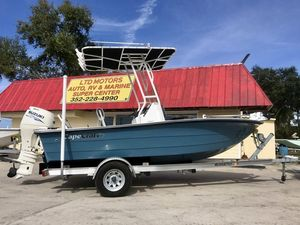 Used Cape Craft 180cc180cc Center Console Fishing Boat For Sale