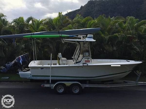 Used Silverhawk 240 Center Console Fishing Boat For Sale