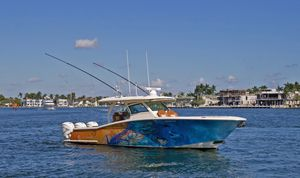 Used Scout 380LXF Cruiser Boat For Sale