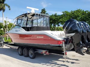 Used Triton 351 Express351 Express Saltwater Fishing Boat For Sale