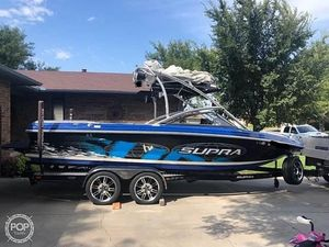 Used Supra 22V Ski and Wakeboard Boat For Sale