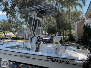 Used Mako Inshore 16 Pro Skiff Center Console Fishing Boat For Sale