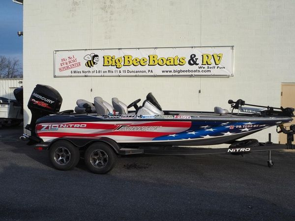 Used Nitro Z19Z19 Aluminum Fishing Boat For Sale