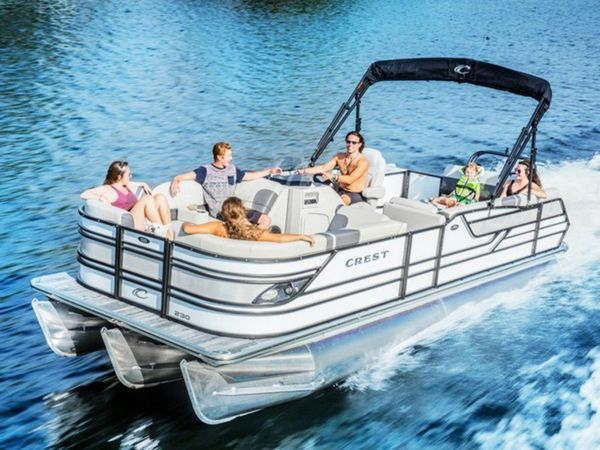 New Crest Caribbean LX 230 SLSCaribbean LX 230 SLS Pontoon Boat For Sale