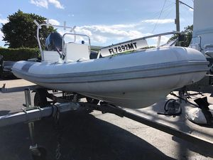Used Novurania 430DL430DL Rigid Sports Inflatable Boat For Sale