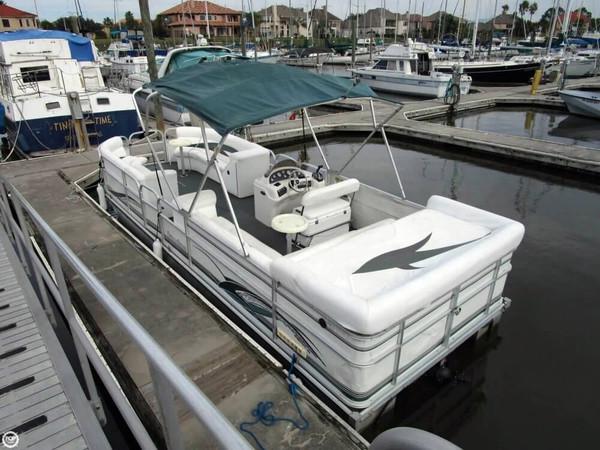 Used Landau 251 Elite Pontoon Boat For Sale