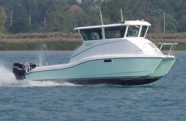 Used Catamaran Pilothouse Boat For Sale