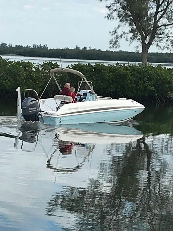 Used Hurricane Center Console 19 OBCenter Console 19 OB Deck Boat For Sale