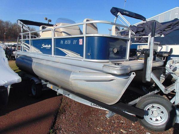 Used Godfrey SW 186 FSW 186 F Pontoon Boat For Sale