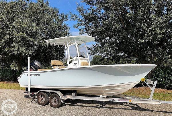 Used Sportsman Open Platinum 212 Center Console Fishing Boat For Sale