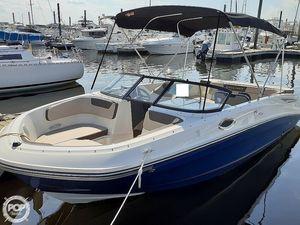 Used Bayliner VR6 Deck Boat For Sale