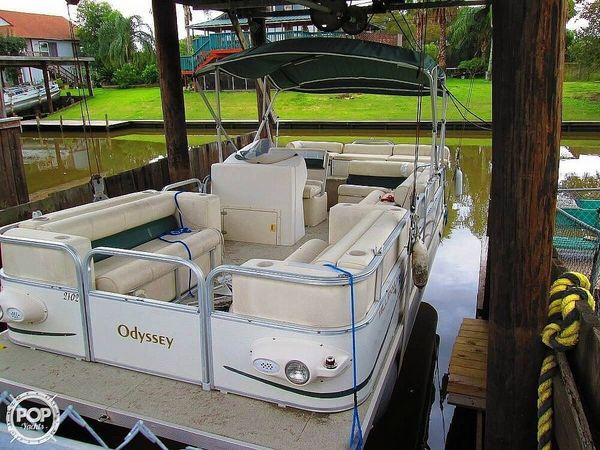 Used Odyssey MILLENIUM 2102 Pontoon Boat For Sale