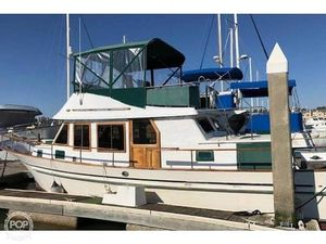 Used Hershine 37 Trawler Boat For Sale