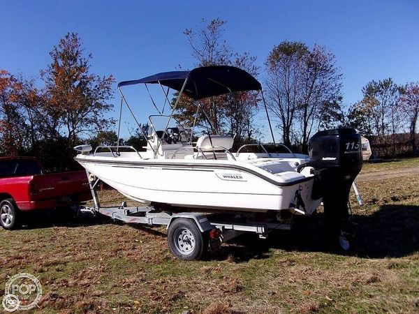 Used Boston Whaler 180 Dauntless Center Console Fishing Boat For Sale