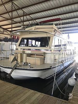 Used Harbor Master 14 x 47 House Boat For Sale