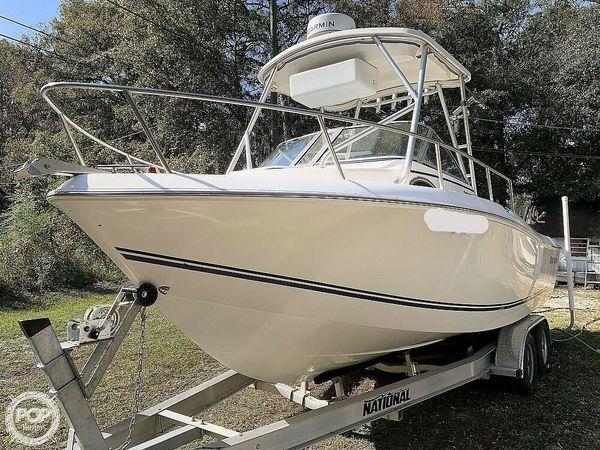 Used Clearwater 2300 WA Walkaround Fishing Boat For Sale