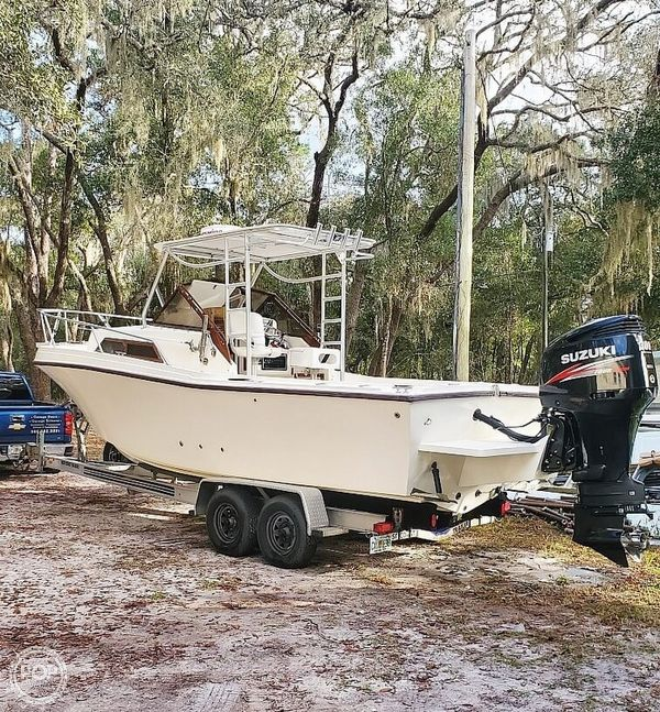 Used Mako 248 WA Walkaround Fishing Boat For Sale