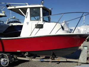 Used Privateer 21 Pilot House Walkaround Fishing Boat For Sale