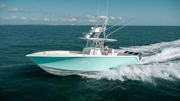 Used Seavee 370z Saltwater Fishing Boat For Sale